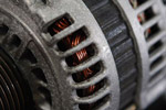 Alternator closeup