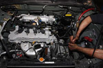 Engine dismantle