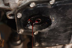 Transmission drain closeup
