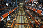 Warehouse drama shot
