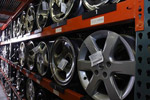 Wheels warehoused